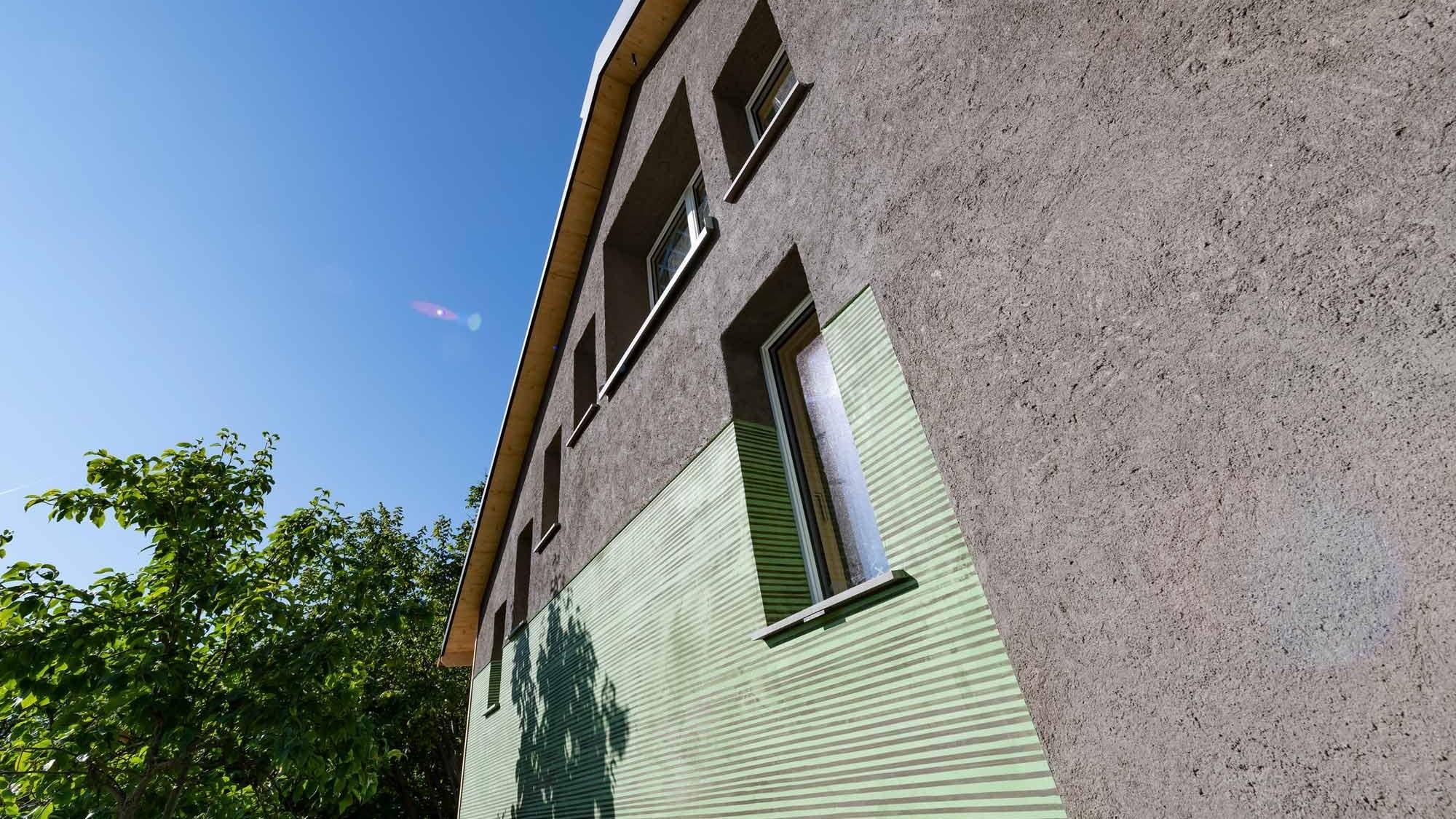 Fassade vom Kreis-Haus in Hombrechtikon