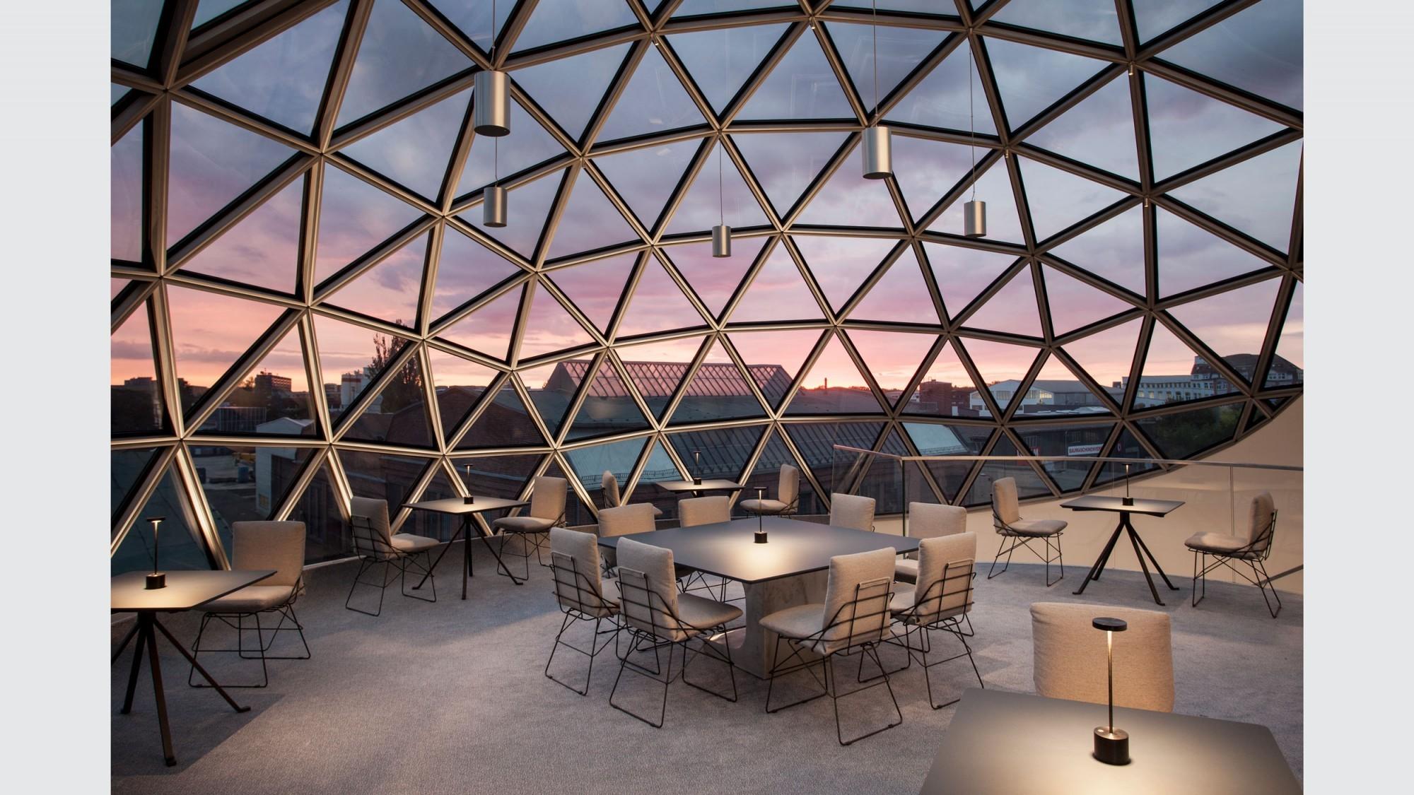 Sphere von Oscar Niemeyer