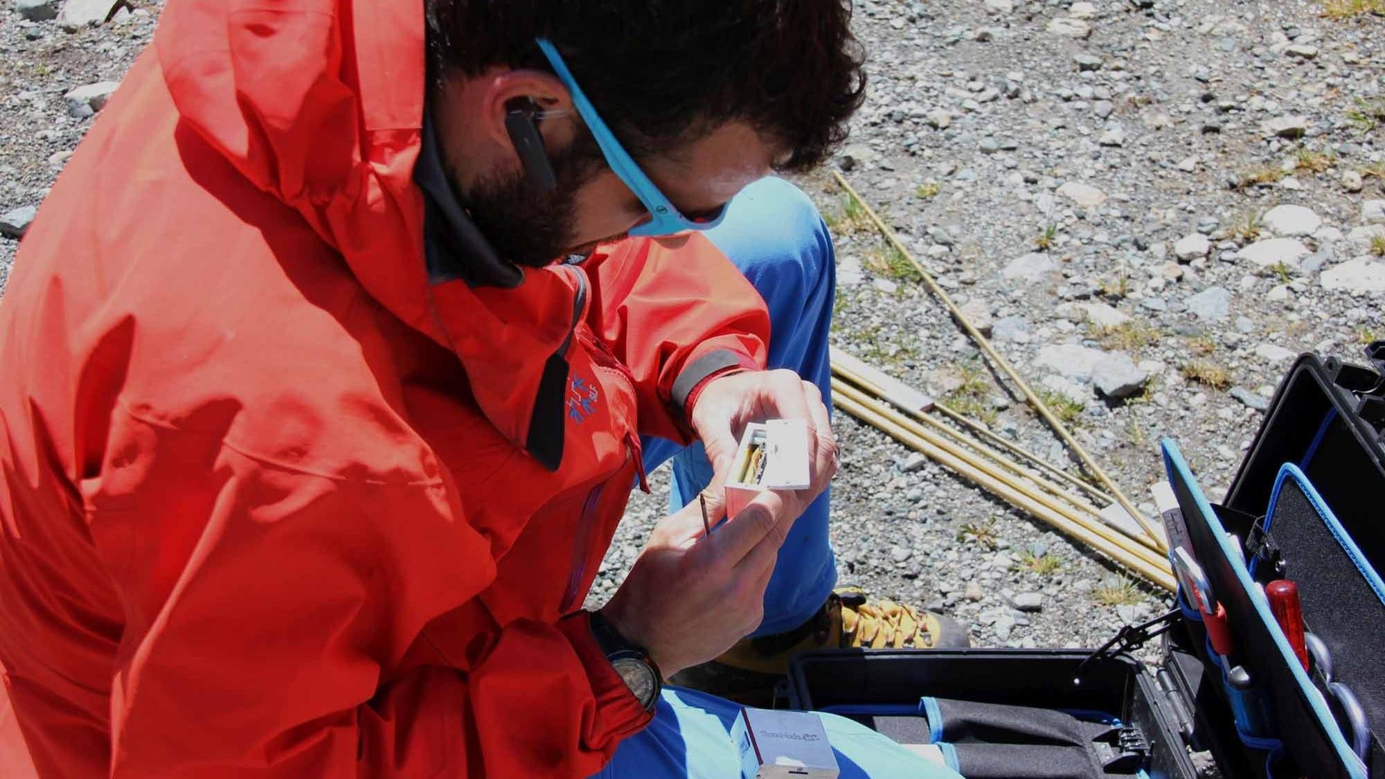 Sensor von der ETH für Betonblöcke
