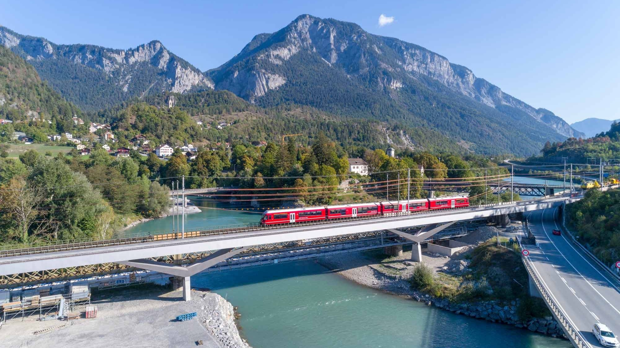 Prix Acier Anerkennung Hinterrheinbrücke Reichenau