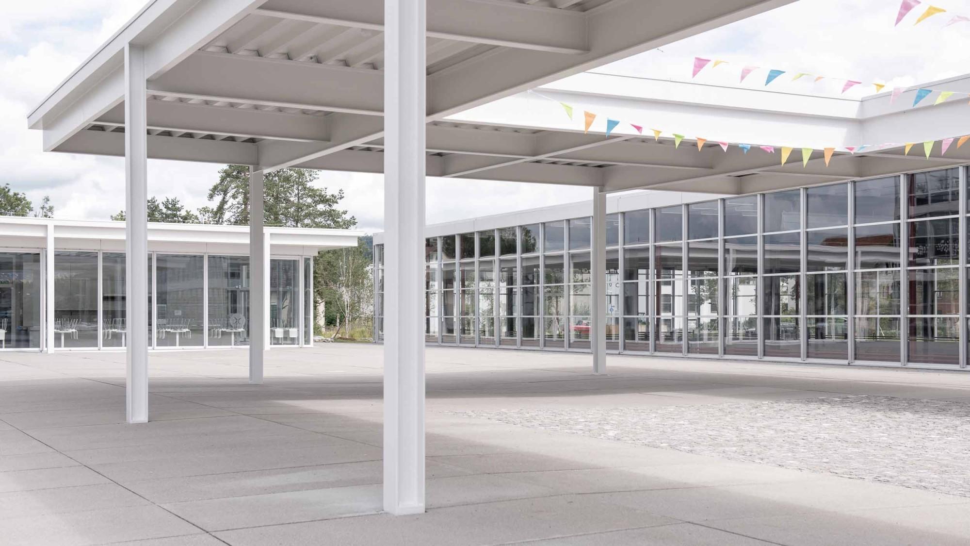 Prix Acier Preisträger Schulanlage Auen, Frauenfeld