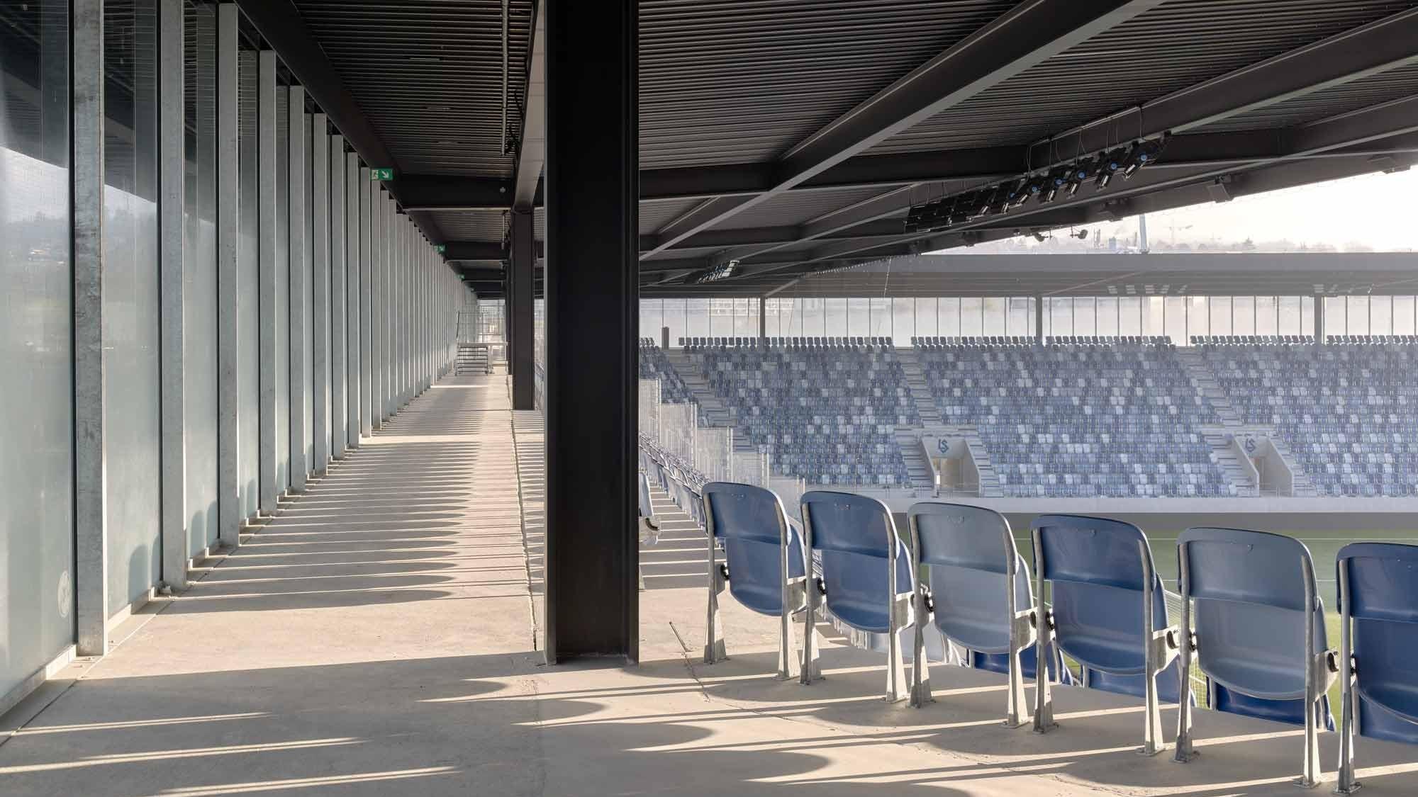 Prix Acier Preisträger Stade de la Tulière Lausanne