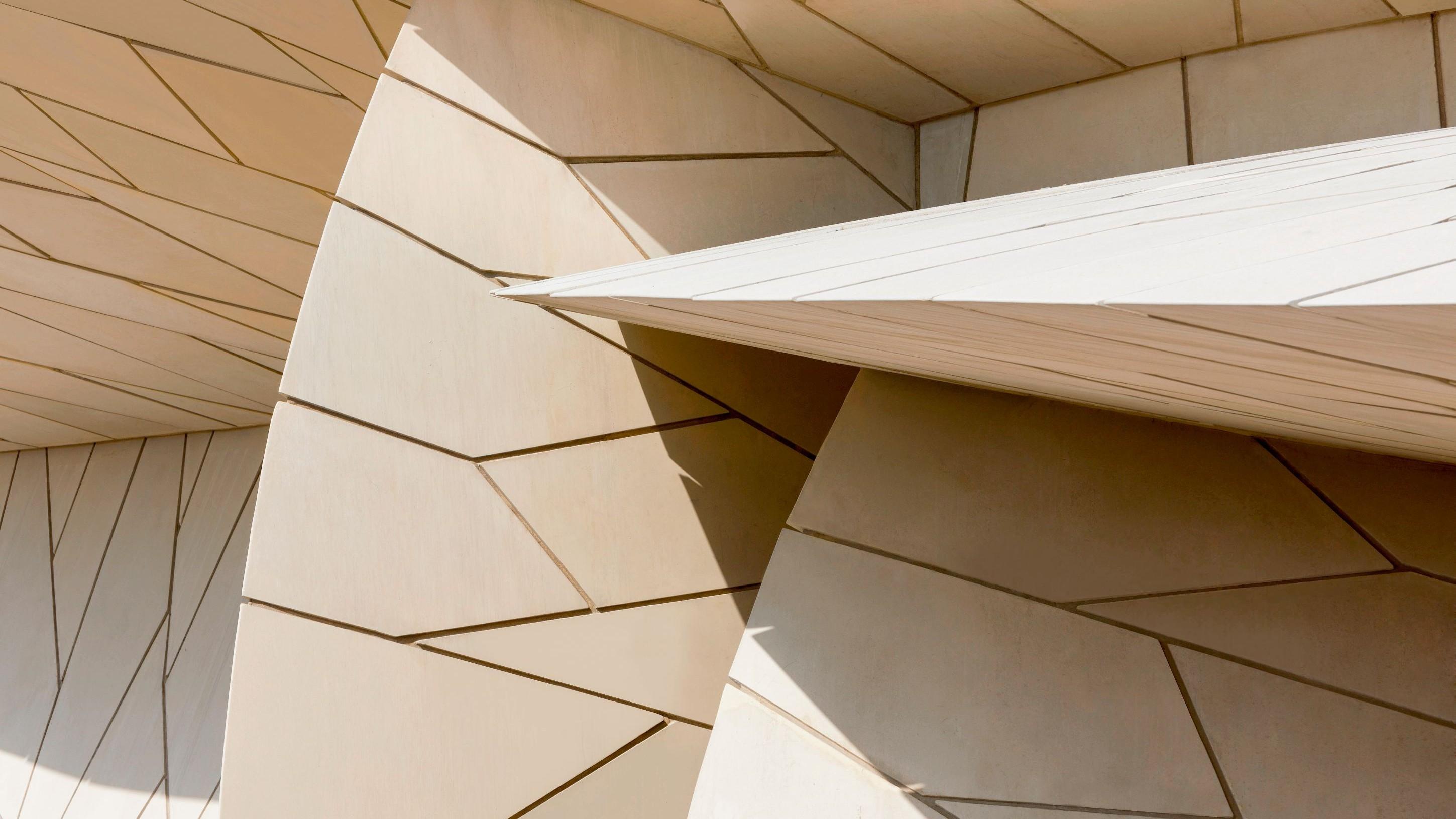 Die einzelnen Fassaden-Teller bestehen aus insgesamt rund 76'000 Faserbetonelementen, die puzzle-artig zusammengefügt sind.